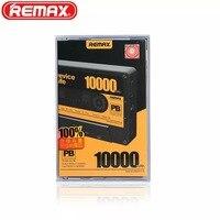Orijinal Remax RP-T10 Sevimli Mini Bant Taşınabilir Güç banka Çift USB Harici Yedekleme Şarj Samsung Not 8 Için Sarı 10000 mah