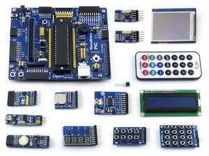 Open18F4520 Forfait B # PIC18F4520-I/P PIC18F4520 PIC18F PIC 8-bit RISC Développement Carte D'évaluation + 14 Accessoire Modules