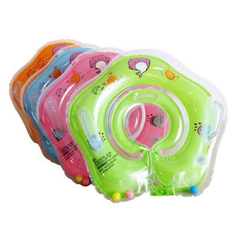 Надувная лодка младенческий детский плавательный круг для шеи детский плавательный conformation трубчатое кольцо для бассейна шеи Круг для купания поплавок кольцо