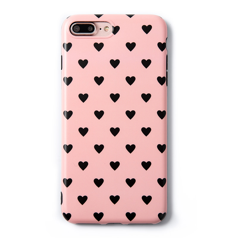 iphone 7 case black and pink