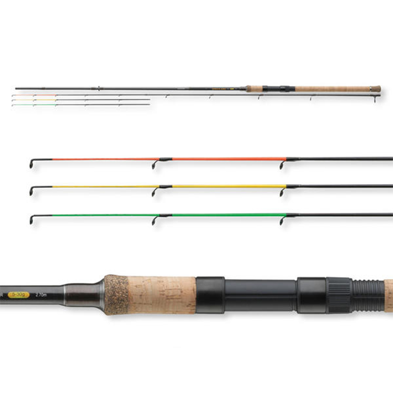 Tideliner picker feeder fishing rod 2 7 m 2 sections 3 tips carbon fiber carp river
