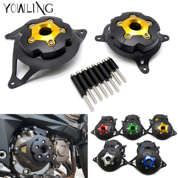 Motorcycle Engine Stator Cover Guard Protection Side Shield Protector For Kawasaki Z800 2013 2015 2016 2017 Z750 2007-2012