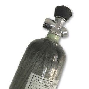 Image 3 - AC10331 3L 4500PSI خزان من ألياف الكربون اسطوانة لاطلاق النار مسدس هواء الصيد/الألوان/PCP الهواء بندقية مع صمام الرماية