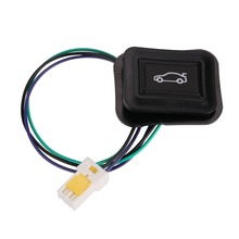 Универсальный Автомобильный задний багажник переключатель багажный дверной светильник с красным светильник