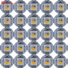 10~1000pcs SK6812 ( Similar to WS2812B ) RGBW Addressable LED Pixel Chips Matrix on Heat Sink PCB Board for Arduino DIY 5V DC