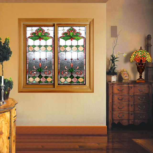 Custom Made Wood Windows Art Glass Interior Doors. Kitchen Door Balcony  Partition Doors Sliding