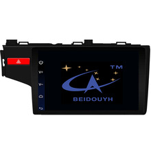 BEIDOUYH 10.2 inch Android Car GPS Navigation for HONDA FIT 2014-2016 Support Front/Rear Record/can-bus/DVR car radio navigators