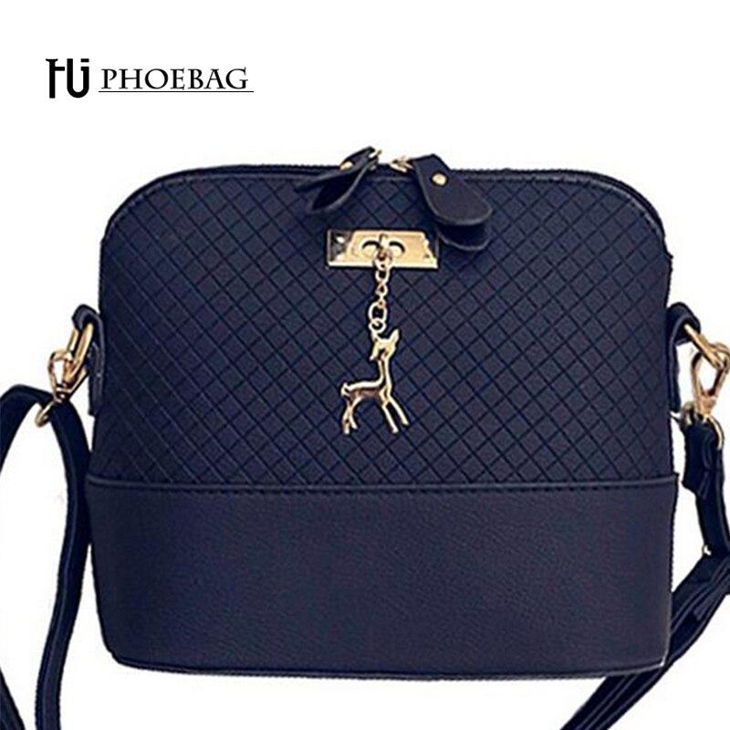 HJPHOEBAG 2017 New Fashion Shell Women Messenger Bags High quality Deer Cross bo