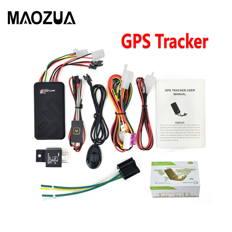 GT06 Mini Car GPS Tracker SMS GSM GPRS Vehicle Online Tracking System Monitor Remote Control Alarm for Motorcycle Gps Locator