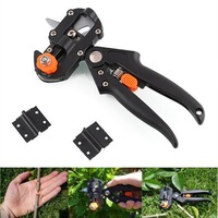NEW Garden Fruit Tree Pro Pruning Shears Scissor Grafting Cutting Tool Free 2 Blade Garden Tools
