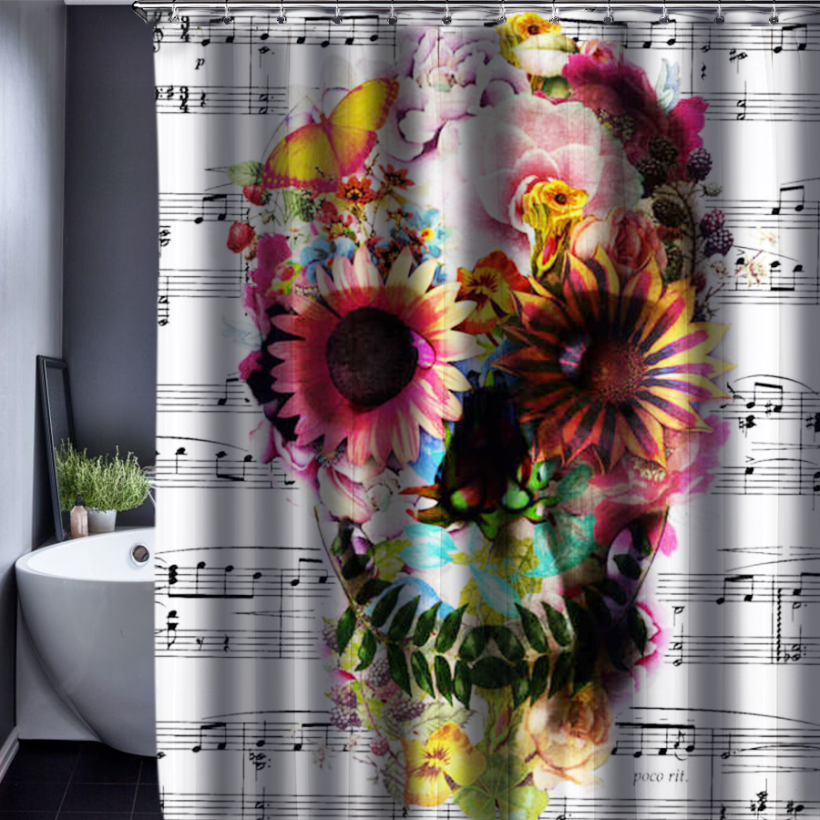 Audrey Hepburn Shower Curtain Customized Shower Curtain Waterproof Bathroom Fabric 165x180cm Shower Curtain For Bathroom