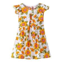 Детские платья для девочек платье для девочек es Летняя одежда платье для девочек длинные юбка-пачка; детская одежда Танцы первый Платья для именинниц элегантный