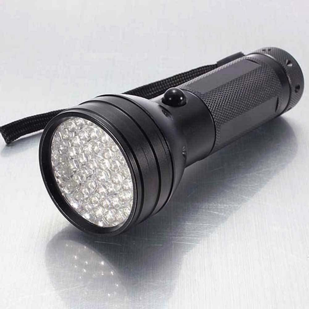 51 UV LED Scorpion Detector Hunter Finder Ultra Violet Blacklight Flashlight mini portable 51 led uv ultra violet flashlight torch light scorpion detector free shipping