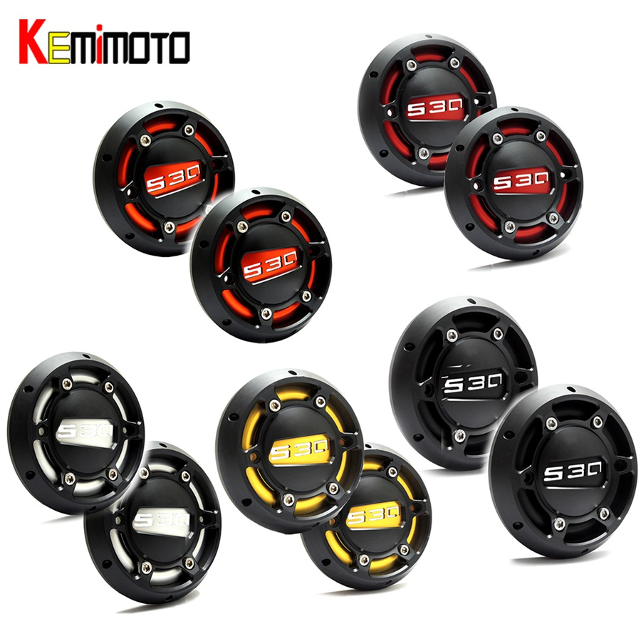 KEMiMOTO 2PCS TMAX 530 500 2008 Motorcycle T MAX 500 2008-2011 CNC Engine Stator Cover Guard For Yamaha T-max 530 500 2012-2015 цена 2017