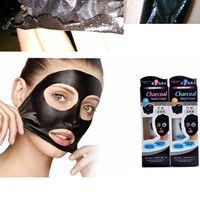 Bamboo Charcoal Blackhead Remover Nose Face Facial Mask Skin Care Masks Suction Black Mask