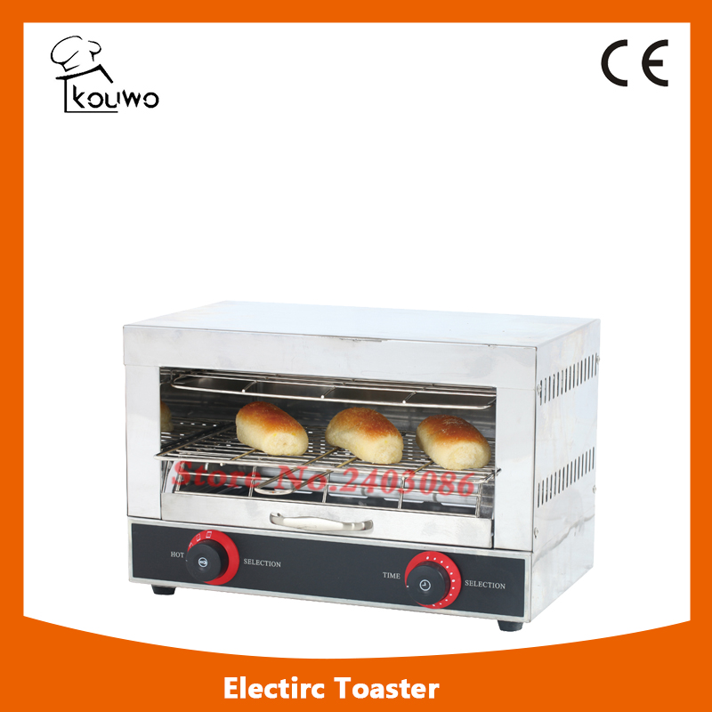 Commercial bakery equipment Automatic Electric Stainless Steel Bread Toaster for Baking Machine new automatic stainless steel commercial vegetable