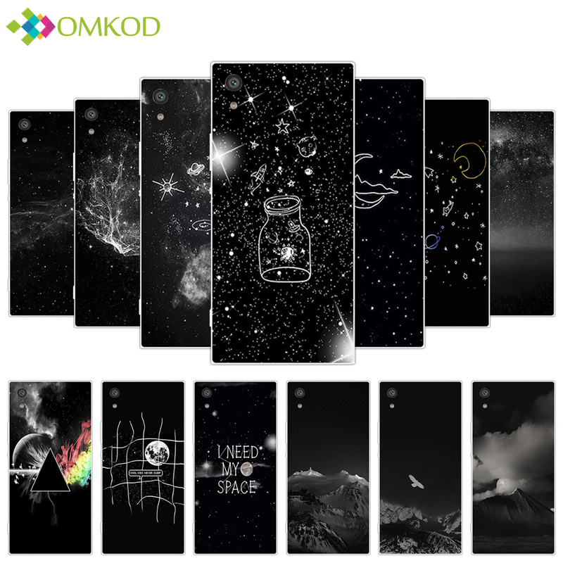 For Sony Xperia XA1 Ultra 6.0 inch Soft Clear Silicone Starry Fundas For Sony Xperia XA1 Ultra for XA1 Ultra Phone Cases