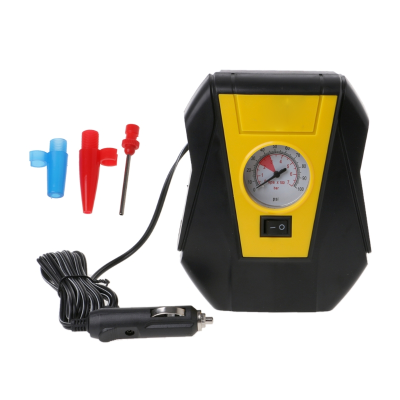 Inflatable Pump Hot Sale Free Shipping Car 12v Electric Tire Inflator Auto Portable Air Compressor Pump Led Emergency Travel & Roadway Product