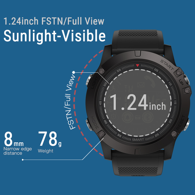 33-month Standby Time 24h All-Weather Monitoring Smart Watch 4