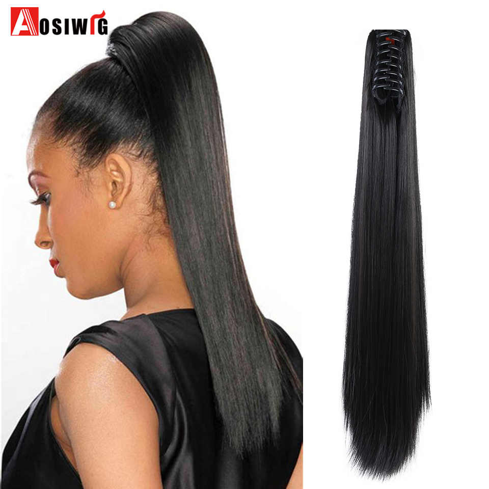 d573df34464 Detail Feedback Questions about AOSIWIG 24'' Synthetic Ponytail Long ...