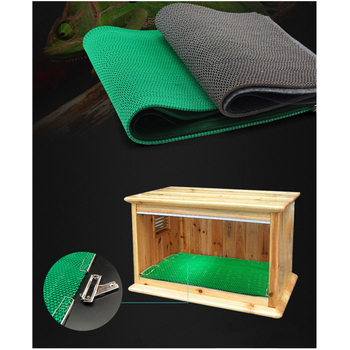 3 Layers Crawler Box Pad Reptiles Bedding with 4 Strong Clip 1