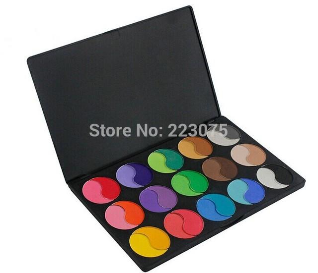 30 Matte cores pó Mineralize sombra eye shadow Palette Kit maquiagem Set como presente de natal