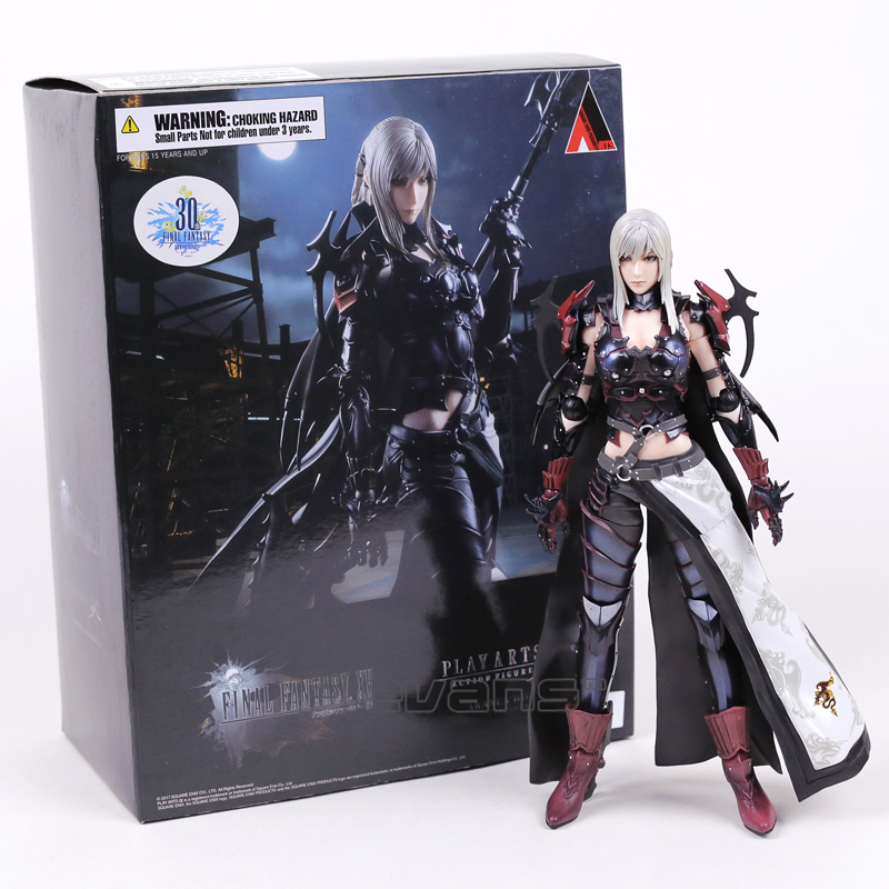 Square Enix Play Arts Kai Final Fantasy XV Aranea Highwind PVC Action Figure Collectible Model Toy 25cm