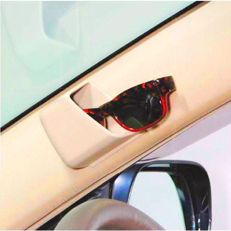 Supporto Per Visiera Parasole Per Auto Supporto Per Organizzatore Di Carte Per Occhiali Da Sole Cd Per Visiera Organizer Universale Per Auto Scatola Di Immagazzinaggio Per Auto in Pelle Nera