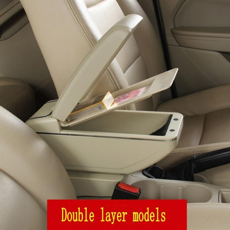 Untuk Skoda Yeti Octavia A5 kotak sandaran tangan pusat kotak - Suku cadang mobil - Foto 5