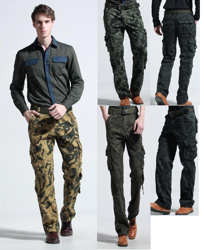 best value better price for durable service US $34.51 22% OFF|maikul789 camouflage trousers male casual military  uniform cargo tactical pants men fashion militar army fatigue pantalon  hombre-in ...