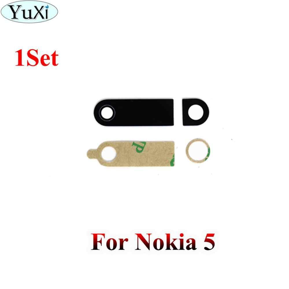 YuXi אחורי חזרה מצלמה זכוכית עדשת כיסוי עבור Nokia 5 6 8X5X6X7 3 6.1 7 בתוספת עבור Nokia Lumia 950 950XL1520 עם Ahesive מדבקה