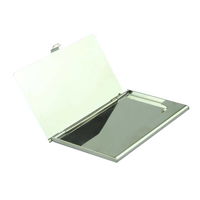 Business ID Credit Card Holder For Women Men Voberry Silver ...