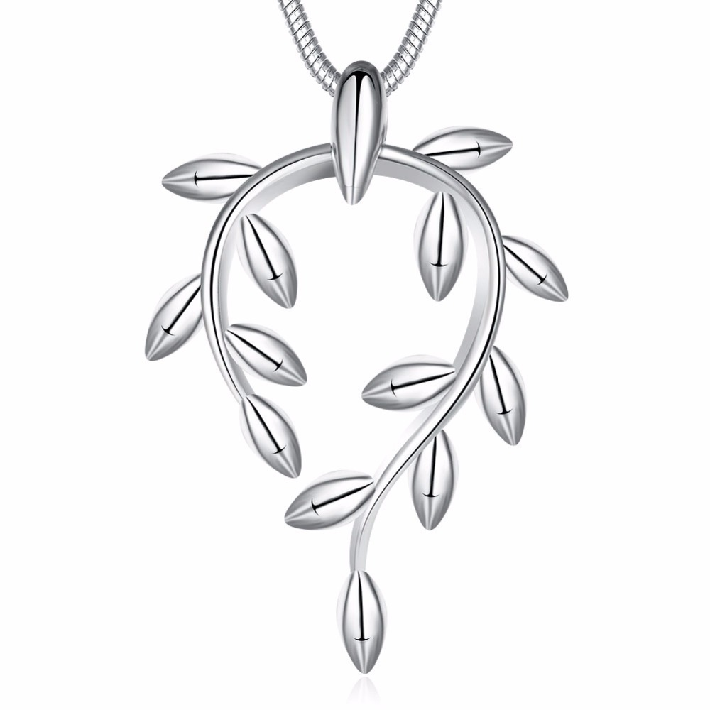 with in sterling olive diamonds branch jewelry silver necklace