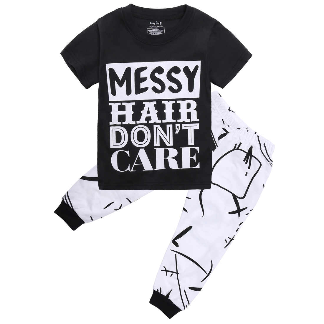 87358bbafde7 Detail Feedback Questions about Toddler Infant Newborn Kids Baby Girls Boys  Outfit Clothes T shirt Tops Long Pants Trousers 2PCS Set on Aliexpress.com  ...
