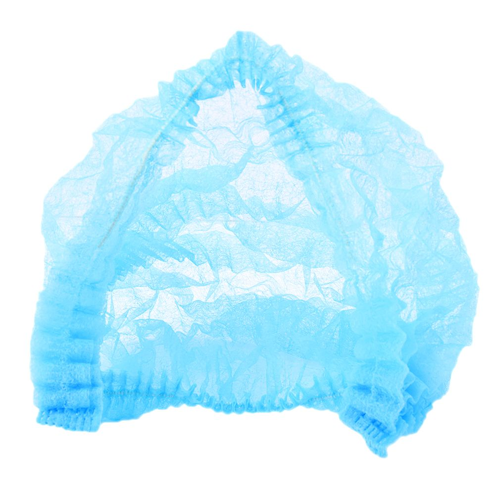 Beauty & Health 200pcs Microblading Disposable Blue Medical Hair Net Cap Non-woven Bouffant Stretch Dust Cap For Tattoo Cleaning Supplies Tattoo Accesories