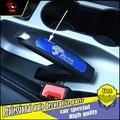 Carro-styling estacionamento freio de mão freio de Mão freio de Vara Para Ford kuga 2013-2016 Lantejoulas guarnição da tampa do travão de mão Decoração acessórios