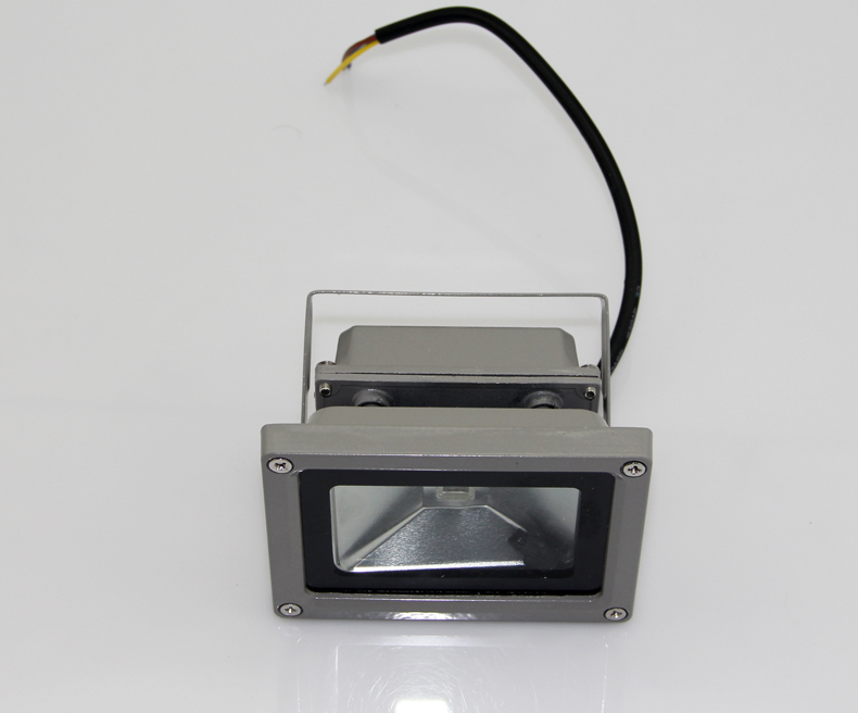10W LED RGB Color Spotlight Flood Light Outdoor Ligh 85-265V Remote Control Garden Wholesale Lamp Waterproof Free Shipping