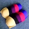 2016 Gather sexy bra thin normal padded cheap NO push up t-shirt bra 1/2 half cup 80-95 B/C cup bra for women underwire bra H215