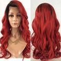 Мода рыжие волосы ломбер парик виргинский бразильский человеческих волос парики / перед парик Glueless полные парики для чернокожих женщин