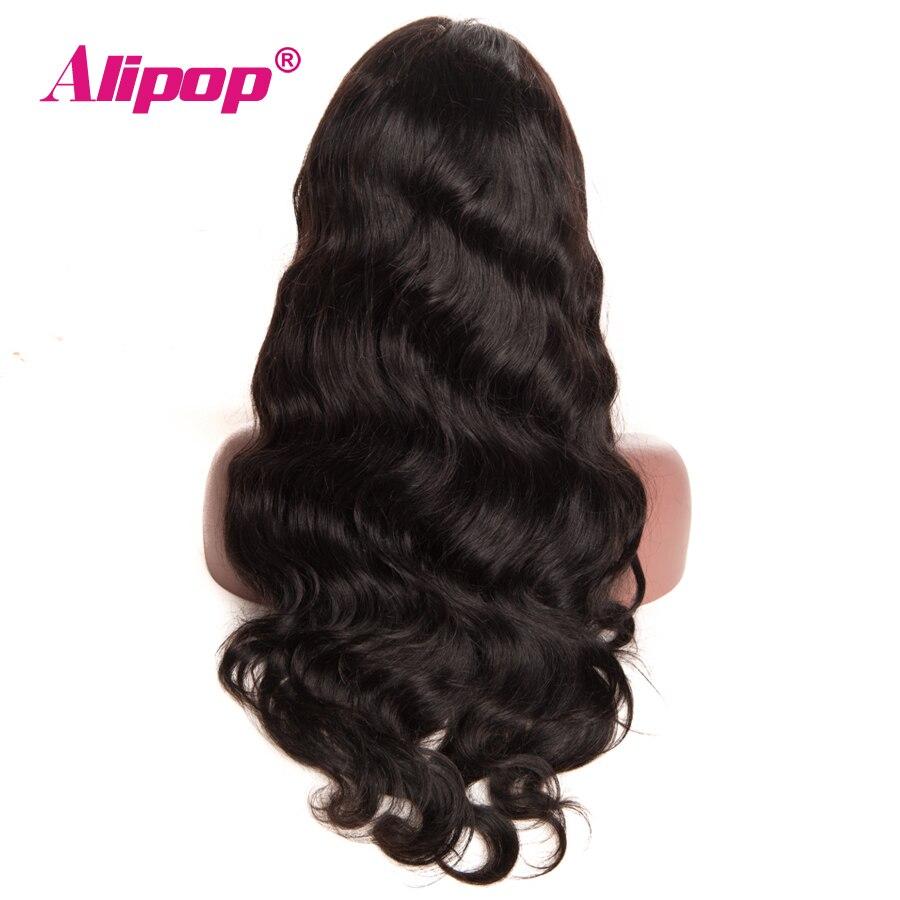 150 Density Brazilian 13x4 Lace Front Human Hair Wigs ALIPOP Body Wave Wigs Remy Lace Front