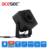 ACESEE 1080P HD For Sony IMX290 3MP 3 7mm Lens Wireless Pinhole Camera Onvif Video 1
