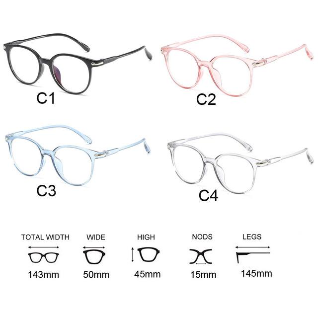 f9fe0529c8c Korean Fashion Clear Glasses Frame Anti Blue Light Glasses Women Fake  Glasses Pink Optical Eyeglasses Frame