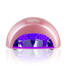 MelodySusie 12W Violetili LED Light Lamp Black/Pink/White Nail Dryer for Curing LED Gel & Nail Polish with US/UK/EU plug