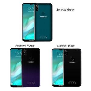 Image 5 - DOOGEE Y8 Y 8 Android 9,0 teléfono móvil FDD LTE Smartphone de 6,1 pulgadas MTK6739 Quad Core 3GB RAM 32GB ROM 3400mAh teléfono móvil Face ID