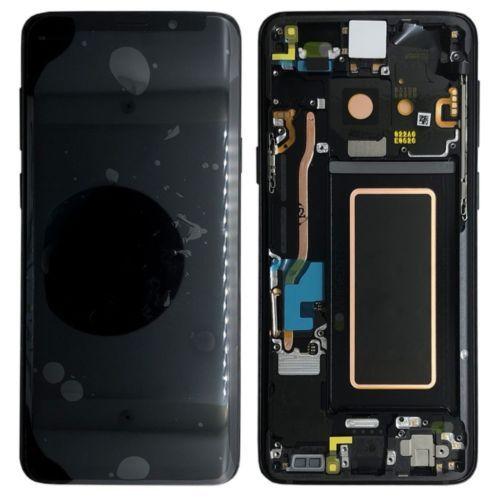 Для samsung Galaxy S9 плюс G9650 ЖК-дисплей Дисплей Сенсорный экран планшета с рамкой черный