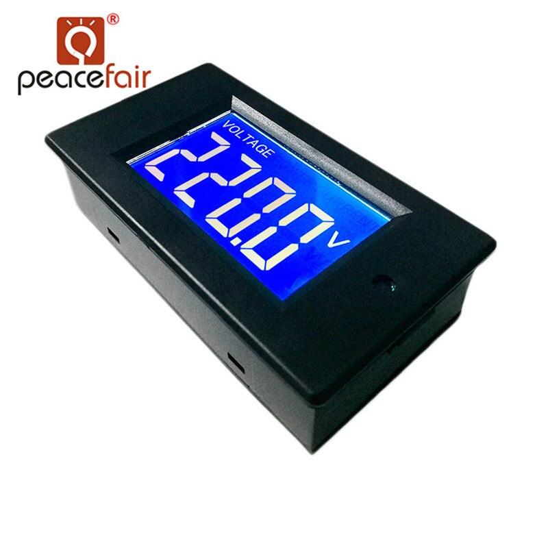 Peacefair PZEM-012 AC egyfázisú LCD Digtal Wattmérő 220V 5A áramfeszültség nagyteljesítményű Miniwatt LED lámpateszttel