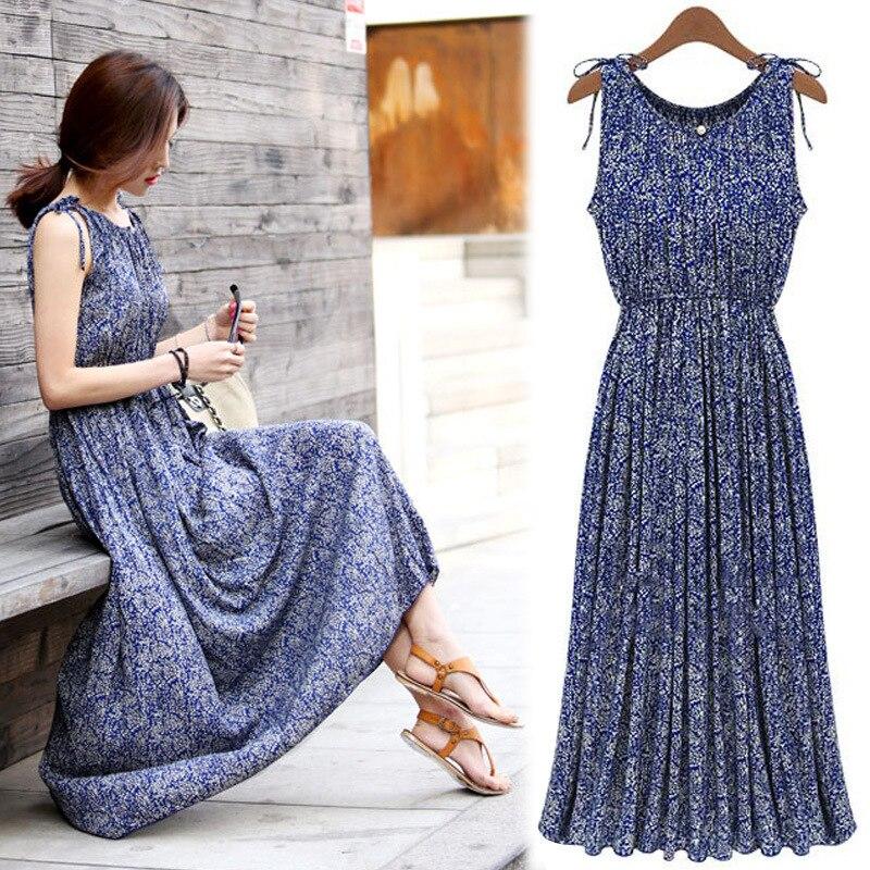 Модные богемные Длинные платья для беременных Одежда для беременных женщин с круглым вырезом без рукавов пляжное платье для беременных Vestidos Платья      АлиЭкспресс