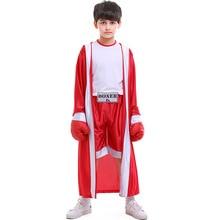 Детский халат для кикбоксинга шорты для боев без правил для мальчиков и девочек Muay Thai накидка Grappling тренировочные спортивные трусы Форма для тайского бокса одежда для фитнеса