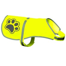 Genuine ZUJA Dog Reflective Vest, Sizes to Fit Dogs 14 lbs to 130 lbs , Safety Vest Keeps Dogs Visible in dark Environment.