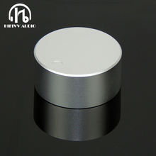 Alta fidelidade botão de volume de alumínio amp 1pc diâmetro 48mm altura 22mm amplificador botão alto falante potenciômetro botão